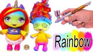 Video Rainbow Baby Unicorn Surprise ! Air Brush Pony DIY Craft Video MP3, 3GP, MP4, WEBM, AVI, FLV Oktober 2018