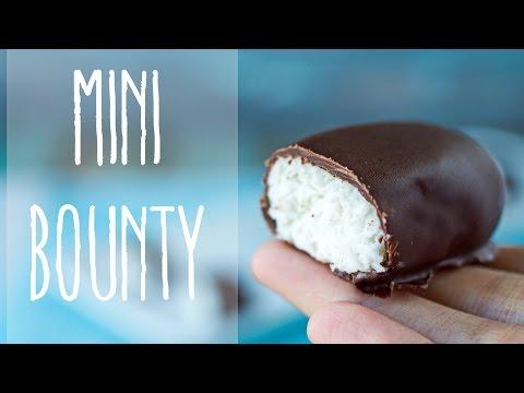 bounty, cioccolatini al cocco - ricetta vegan