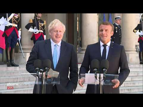 Brexit: Boris Johnson zu Besuch bei Emmanuel Macron in Paris