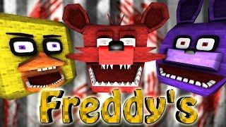 Minecraft | 5 NIGHTS AT FREDDY'S MOD Showcase! (Five Nights at Freddy's, Freddy Mod, Horror)