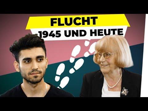 Flucht 1945 und heute: 2 Generationen. 1 Schicksal.