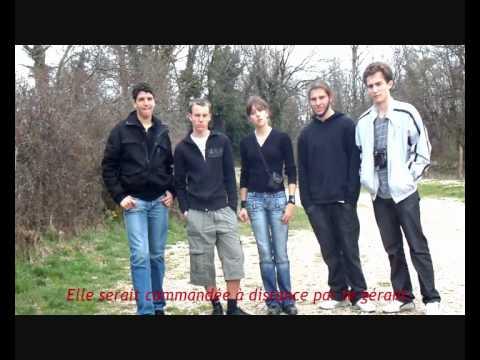 Vidéo robot via ferrata lycée de la plaine de l'Ain - Ambérieu en Bugey