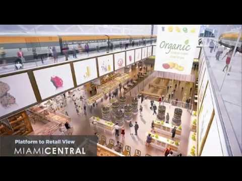 MiamiCentral – Downtown Miami New Transportation Hub