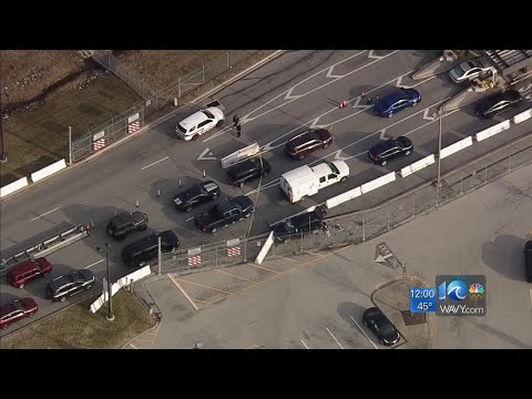 Suspect injured, SUV stopped after shooting at NSA gate