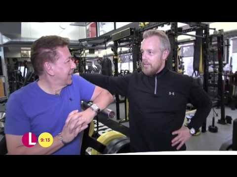 Personal Trainer To The Stars Gunnar Peterson | Lorraine (видео)