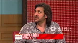 Habla el ex novio de Moria Casán: Gustavo Massud