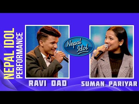 (Aakhai Ma Kasai Ko | Nepal Idol Performance | Ravi Oad & Suman Pariyar | Nepal Idol Season 2 - Duration: 7 minutes, 18 seconds.)