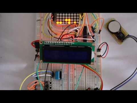 Fritzing Project Binary Clock