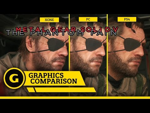 metal gear solid v: the phantom pain - comparazione grafica