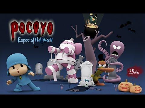 Pocoyo português Brasil - Pocoyo Halloween: Pelis de terror para niños ¡25 minutos de diversión!