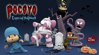 🎃 POCOYÓ en ESPAÑOL - Halloween: Pelis de terror [25 min] CARICATURAS y DIBUJOS ANIMADOS para niños