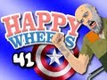 """CAPTAIN AMERICA"" Happy Wheels w/ ChimneySwift11 #41 - THE AVENGERS (HD)"