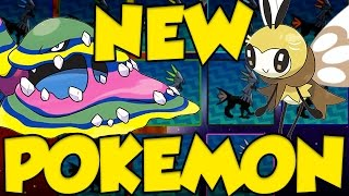 NEW POKEMON SUN AND MOON GAMEPLAY - MORE NEW POKEMON REVEALED! by Verlisify
