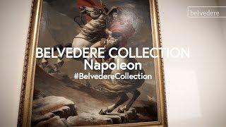 Jacques Louis David - Napoleon am großen St. Bernhard