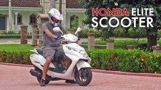 6. 2016 Honda Elite 125cc Scooter