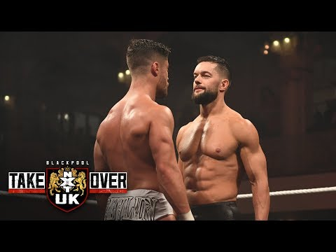 Finn Bálor enters as a surprise replacement for Travis Banks: NXT UK TakeOver: Blackpool