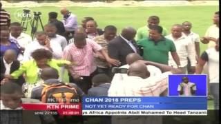 Confederation Of Africa Football Officials Tour Mombasa Municipal Stadium