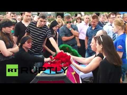 В Омске простились с погибшими десантниками