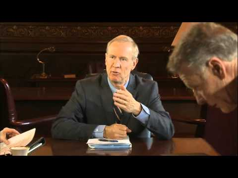 It's Rahm vs Rauner in state budget battle