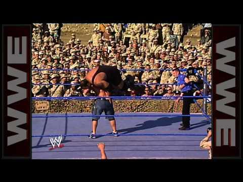 John Cena vs. Big Show: Tribute to the Troops 2003