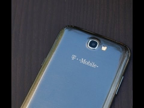 T-Mobile Samsung Galaxy Note II full review