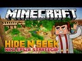 Minecraft Server: Hide N Seek - Najlepsza i Najciekawsza Strategia! - Mini-Game #4