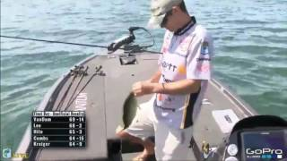 KVD fishing live, Championship Sunday Cayuga Lake 2016 pt. 1