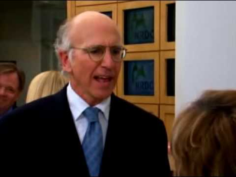 Larry David and Ted Danson on Anonymous Donations