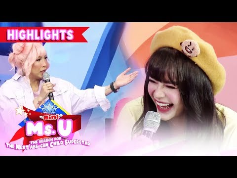 Vice jokes about Arci's outfit | It's Showtime Mini Miss U