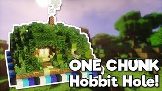 Minecraft: Hobbit Hole in ONE CHUNK! [Tutorial]