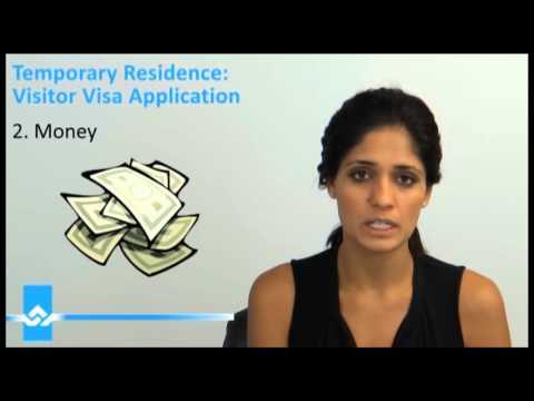Visitor Visa Application Three Important Essentials Video