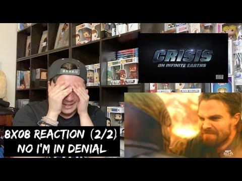 ARROW - 8x08 'CRISIS ON INFINITE EARTHS: PART FOUR' REACTION (2/2)