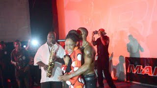 Girl kisses BET's Mario Barrett Live in Dominica - YouTube