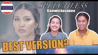 Video Gam Wichayanee Cover Speechless [Naomi Scott] -Aladdin   REACTION download in MP3, 3GP, MP4, WEBM, AVI, FLV January 2017