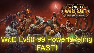This is a World of Warcraft Patch 6.2 Power leveling Guide to level from 91 to 99 within 15-30 minutes using simple strategy, game mechanics and a few items....