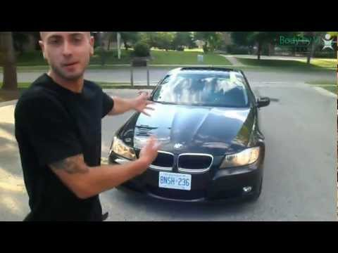 Dan Shaba picks up his Visalus FREE BMW