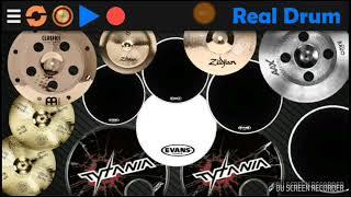 Radja-Pelarian Cinta Drum Cover Aplikasi