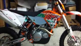 2. KTM 450 exc Six Days 2011 sound
