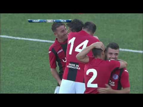 بالفيديو : فريق من جبل طارق يفجر المفاجأة ويهزم سيلتك في تصفيات دوري الأبطال!