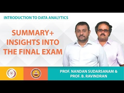 Summary+ Insights into the Final Exam
