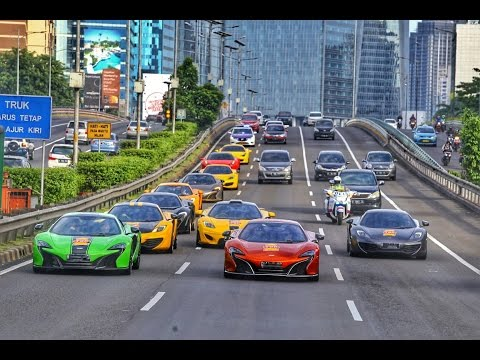 McLaren Club Indonesia - Morning Run Goes to Cisarua