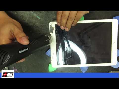 iPad Air cracked screen repair