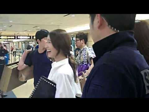 [fancam]130719 SNSD @ Taiwan Taoyuan Airport (видео)