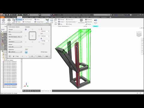 Select which structural members will be automatically idealised as beams. (video: 2.12 min.)