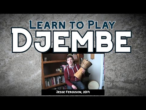 Intro. to the Djembe (Hand Drum)