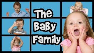 Baby Family Song  Finger Family Song  Nursery RhymesPlease SUBSCRIBE here: http://bit.ly/subscribe2funtasticMost Popular Playlist https://www.youtube.com/playlist?list=PLxe_jQ8vBY6aynVfTJychIR0cy7KCQY4rA family full of babies! Cuteness overload! These little cuties are so fun and silly. Tell us which baby you thought was the silliest. And watch until the end for great tips on how to treat babies!  Lyrics:  Daddy baby, Daddy baby, where are you?  Here I am, Here I am! How do you do? I love you! Mommy baby, Mommy baby, where are you?  Here I am, Here I am! How do you do? I love you! Brother baby, Brother baby, where are you?  Here I am, Here I am! How do you do? I love you! Sister baby, Sister baby, where are you?  Here I am, Here I am! How do you do? I love you! Baby baby, Baby baby, where are you?  Here I am, Here I am! How do you do? I love you!---TITLE--Please SUBSCRIBE here: http://bit.ly/subscribe2funtasticJohny Johny Yes Papa  Nursery Rhymes  Johny Johny https://youtu.be/D2CoNU_EJHw?list=PLxe_jQ8vBY6aynVfTJychIR0cy7KCQY4rFinger Animals Song (part 2)  Nursery Rhymes  Kids Songs  Baby Songs https://youtu.be/Q7dx3LFVk60?list=PLxe_jQ8vBY6aynVfTJychIR0cy7KCQY4rBath Time Songs  The Bath Song  Wash Your Hands Song  Nursery Rhymes https://youtu.be/cAjGqQj7UdE?list=PLxe_jQ8vBY6aynVfTJychIR0cy7KCQY4rWhat if Everybody did It?  Recycling Song  Conservation Song  Nursery Rhymes  Kids Songs https://youtu.be/BrH1qvjLTTs?list=PLxe_jQ8vBY6aynVfTJychIR0cy7KCQY4rABC Song  Lego Alphabet Song  ABCs  Nursery Rhymes  Kids Songs https://youtu.be/T-kcxFdFE-E?list=PLxe_jQ8vBY6aynVfTJychIR0cy7KCQY4rIf You're Happy and You Know It  Kids Songs  Actions Song for Kids https://youtu.be/Dee-GVEBkHA?list=PLxe_jQ8vBY6aynVfTJychIR0cy7KCQY4rFace Paint Song and MORE Nursery Rhymes  90 minutes  Songs for Kids https://youtu.be/6W7UFBFP2OI?list=PLxe_jQ8vBY6aynVfTJychIR0cy7KCQY4r3 Little Kittens  Nursery Rhymes  Kids Songs https://youtu.be/QszY7sAuKoo?list=PLxe_jQ8vBY6aynVfTJychIR0cy7KCQY4rNursery Rhyme Super Compilation  3 hours  Educational https://youtu.be/INJSVU46s_0?list=PLxe_jQ8vBY6aynVfTJychIR0cy7KCQY4r10 in the Bed (Counting Song)  Ten in the Bed  Nursery Rhymes #NurseryRhymes https://youtu.be/YNuwyHgEuIg?list=PLxe_jQ8vBY6aynVfTJychIR0cy7KCQY4rMary Had a Little Lamb  Nursery Rhymes https://youtu.be/8qnwxlQ9bik?list=PLxe_jQ8vBY6aynVfTJychIR0cy7KCQY4rGoldilocks and the Three Bears  Kids Songs  Nursery Rhymes https://youtu.be/IGoPXUOlV9o?list=PLxe_jQ8vBY6aynVfTJychIR0cy7KCQY4r5 Little Ducks  Nursery Rhymes  Kids Songs https://youtu.be/JG3xtwLeqPc?list=PLxe_jQ8vBY6aynVfTJychIR0cy7KCQY4rLittle Red Riding Hood  Nursery Rhymes  Fairy Tales https://youtu.be/lbgfDbcSOyY?list=PLxe_jQ8vBY6aynVfTJychIR0cy7KCQY4rFood Songs For Kids  Songs about Food  Nursery Rhymes  Kids Songs  Educational https://youtu.be/ZglFWN4YG3Y?list=PLxe_jQ8vBY6aynVfTJychIR0cy7KCQY4rNumbers & Letters Songs For Kids  Over 1.5 Hours  Nursery Rhymes  Kids Songs  Educational https://youtu.be/9yXQ-lBWO7g?list=PLxe_jQ8vBY6aynVfTJychIR0cy7KCQY4rWheels on the Bus Farm Animals  Animal Songs Nursery Rhymes https://youtu.be/S3MTv4dfh10?list=PLxe_jQ8vBY6aynVfTJychIR0cy7KCQY4rBaby Family Song  Finger Family Song  Nursery Rhymes  Adorable Babies https://youtu.be/grCW_n3zrJY?list=PLxe_jQ8vBY6aynVfTJychIR0cy7KCQY4rLondon Bridge is Falling Down  FUNTASTIC TV https://youtu.be/-i6kmqqCoa4?list=PLxe_jQ8vBY6aynVfTJychIR0cy7KCQY4rCounting and Number Songs  Nursery Rhymes  Kids Songs  Educational https://youtu.be/0C3IJM4AnMI?list=PLxe_jQ8vBY6aynVfTJychIR0cy7KCQY4rPhonics Letter A  Phonics Song  Songs for Kids https://youtu.be/CqdGrdxs1KI?list=PLxe_jQ8vBY6aynVfTJychIR0cy7KCQY4rBingo  Nursery Rhymes B-I-N-G-O https://youtu.be/14YSavLqTgg?list=PLxe_jQ8vBY6aynVfTJychIR0cy7KCQY4rBear Hunt  Nursery Rhymes  90 MIN  Action Songs https://youtu.be/g74_PMwD6N0?list=PLxe_jQ8vBY6aynVfTJychIR0cy7KCQY4rOn FUNTASTIC TV, we feature lots of educational kids songs and nursery rhymes. Everything is age appropriate and most of our viewers are children between 2 and 8 years of age.