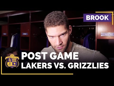 Video: Brook Lopez On Lakers Identity, Lonzo Ball's Irreplaceable Talents