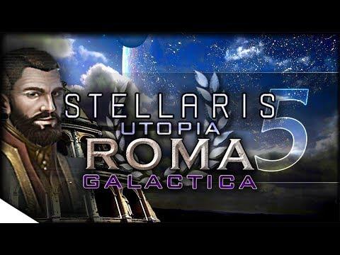 A Near & Dire Threat - Utopia Gameplay   STELLARIS — Roma Galactica 5   1.5 Banks Update