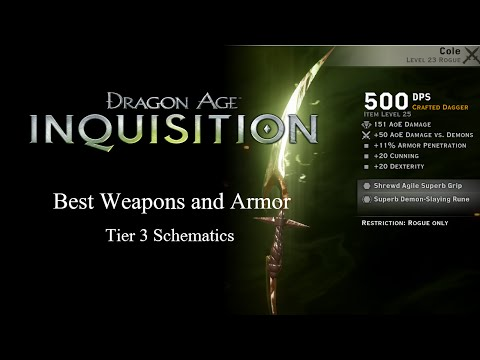 Dragon Age Inquisition Rune Crafting Materials