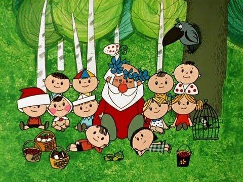 Новогодние мультфильмы - Дед Мороз и лето (видео)